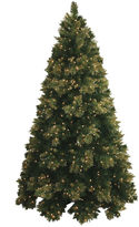 JCPenney MOUNTAIN KING 7.5' Pre-Lit Glitter-Tipped Golden Pine Christmas Tree