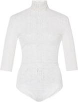 Nina Ricci Laced Long Sleeve Bodysuit