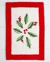 "Lenox Bath Accessories, Holiday 20"" x 30"" Bath Rug"