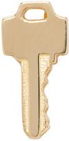 Lauren Klassen Gold Tiny Key Earring
