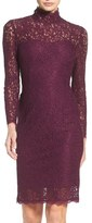 Adrianna Papell Women's Corded Lace Sheath Dress