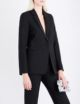 Victoria Beckham Single-breasted wool jacket