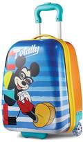 American Tourister Disney Mickey Mouse 18-Inch Hardside Wheeled Luggage by