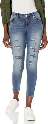 SLINK Jeans Women's Plus Size Ankle Jegging Jean