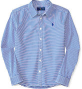 Ralph Lauren Bengal-Striped Oxford Shirt