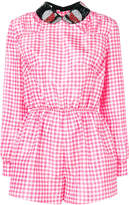Miu Miu checked playsuit