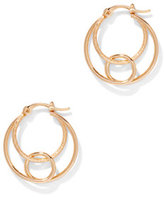 New York & Co. 3-Row Hoop Earring