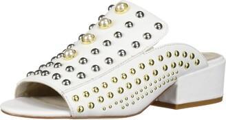 Kenneth Cole New York Women's Farley Studded Open Toe Slide Sandal