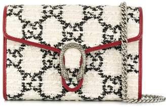 Gucci Dionysus GG tweed clutch