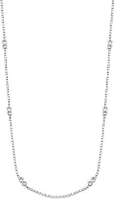 Fallon Liquid Diamante Cubic Zirconia Strand Necklace