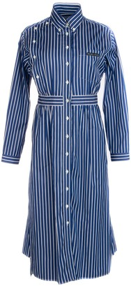 Prada Striped Shirt Dress