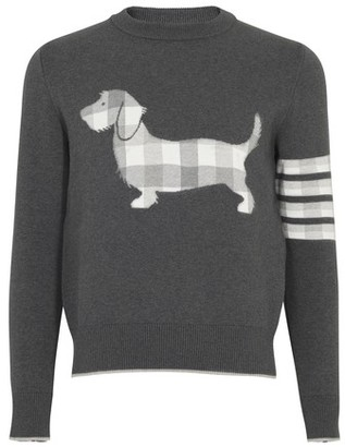 Thom Browne Hector 4-Bar sweater