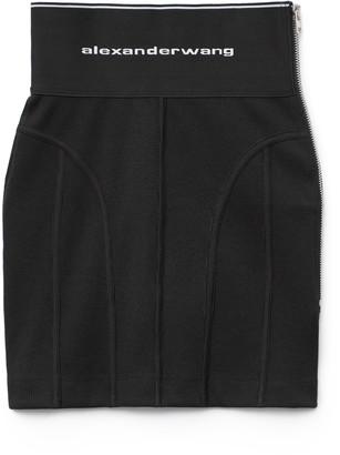 Collection Logo Elastic Skirt