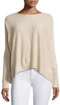 Joie Fai Cashmere Rib-Trim Sweater