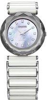 Jowissa Women's J1.007.M Safira 99 Mother-of-Pearl Rhinestone Ceramic Watch
