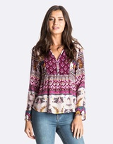 Roxy Womens Havana Printed Top