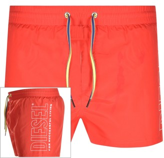 Diesel BMBX Sandy Swim Shorts Red