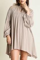 Umgee USA A-Line Peasant Dress