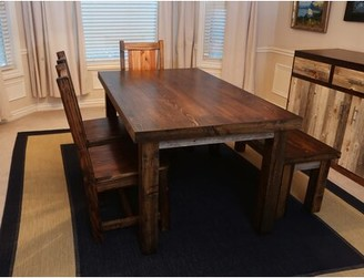 Rustic Wood Dining Table Shopstyle
