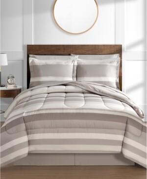 Fairfield Square Collection Austin Reversible 8-Pc. Comforter Sets Bedding