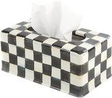 Mackenzie Childs MacKenzie-Childs - Courtly Check Tissue Box Cover - Long