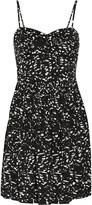 Tart Collections Venna printed crepe de chine mini dress