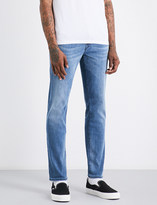 True Religion Geno relaxed-fit skinny stretch-denim jeans