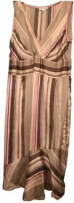 Gerard Darel Pink Silk Dress for Women