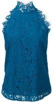 Diane von Furstenberg floral lace tank