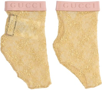 Gucci Logo Lace Socks