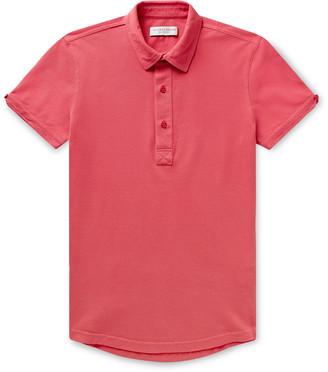 Orlebar Brown Sebastian Slim-Fit Cotton-Pique Polo Shirt