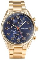 English Laundry Men's 47mm Steel Bracelet Swiss Quartz Watch El7956g236-474