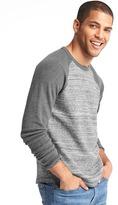 Gap Marled baseball sweatshirt