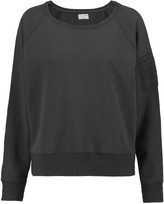 Rag & Bone Paneled cotton-jersey sweatshirt