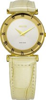 Jowissa Women's J2.065.M Roma MoL Gold PVD Silver Dial Roman Numeral Watch