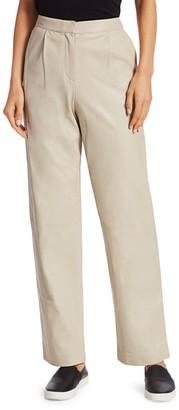 Theory Shine Leather Pants