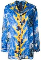 Romance Was Born 'Rococo Plume' pyjama shirt