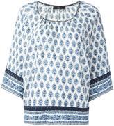 Steffen Schraut persian print blouse - women - Cotton/Viscose - 36