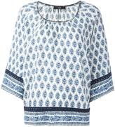Steffen Schraut persian print blouse