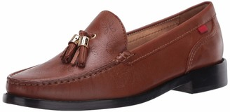 Marc Joseph New York Women's Leather Made in Brazil West End Tassle Loafer