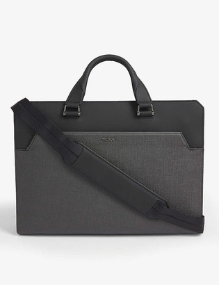 Tumi Barnet double zip briefcase