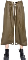 MM6 MAISON MARGIELA Coated Cotton Canvas Pants