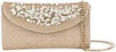 Casadei pearl embellished clutch