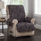 Circles Recliner and Wing Chair Cover in Black