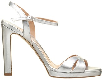 Roberto Festa Silver Leather Arny Sandals