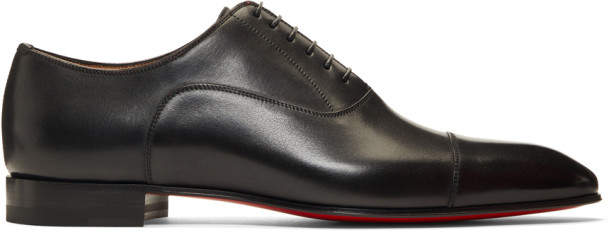 Christian Louboutin Black Greggo Oxfords