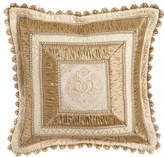 "Sweet Dreams Kensington Garden Mitered Pillow, 20""Sq."