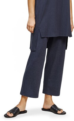Eileen Fisher Ribbed Wide Leg Pants