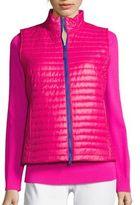 Vineyard Vines Shiny Solid Puffer Vest