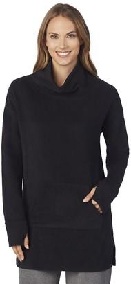Cuddl Duds Women's Fleece Wear Long Sleeve Tunic Top